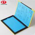 Book Shape Cellphone Screen Protectors Packaging Box with foam