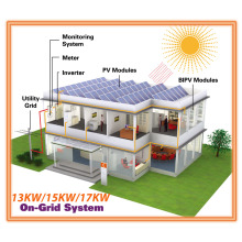 Complete Unit 13kw/15kw/17kw Grid Tie Solar System