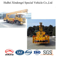22m Dongfeng Folding Arm High Working Truck Euro5