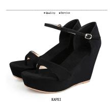 К 2015 году новых клинья леди сандалии обувь