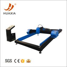 Cortadora de plasma CNC con compresor de aire y secador.