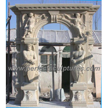 Stone Marble Granite Arch Door Surround for Doorway Archway (DR020)
