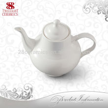 japanese personalized tea pots/ plain white kettle