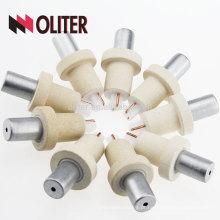 OLITER venda rápida venda rápida platina rhodium descartável tipo s termopar dispensável 604 triângulo 602 rodada fabricante