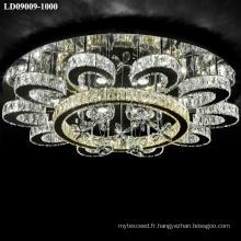 Gros luminaire plafonnier led lustre
