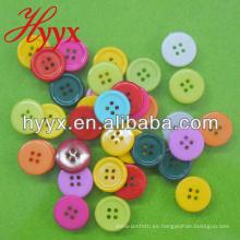 Pequeño botón redondo de madera de diseño nuevo