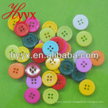 Small Round New Design Wood Button