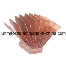 Dissipador de calor de cobre no campo automático