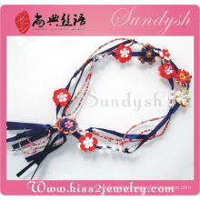 Lady Long Elastic Jeweler Women Belt