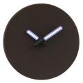 Relógio de Parede LED com Mão Luminosa