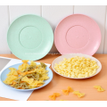 4 Pairs Healthy Wheat Straw Plates