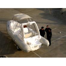 Barco inflável opcional da série Deluxe Color, barco inflável rígido