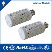 Branco quente 110V 12W - lâmpadas do diodo emissor de luz do milho 20W