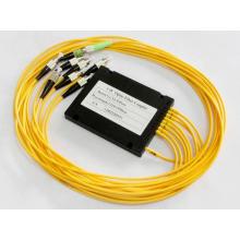 1x8 low Einfügungsverlust faseroptik plc splitter module mit FC connector