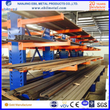 2016 Popular Ce-Certificated Multi-Level Metallic Cantilever Racking