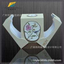 Innerhalb des inneren Druck-UVlack-Prägungsgewohnheits-Logo-Marken-Qualitäts-Tuck-Ende-Duft-Brett-Verpackens Papier