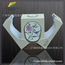 Intérieur impression intérieure vernis UV gaufrage Logo personnalisé Marque qualité bord Tuck embout Papier d'emballage