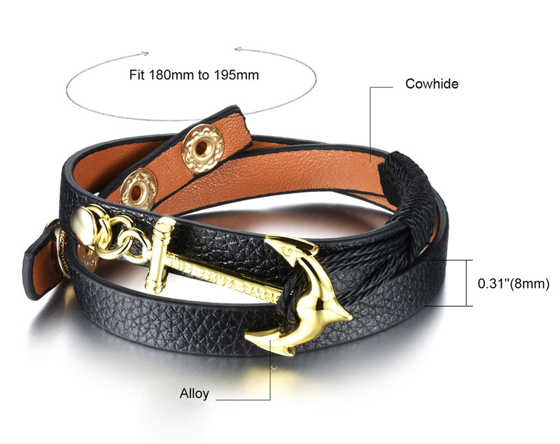 women's leather wrap bracelets