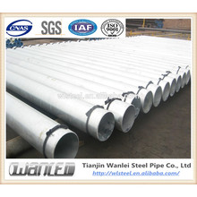 steel tube gals/pre-galvanized steel pipe cost