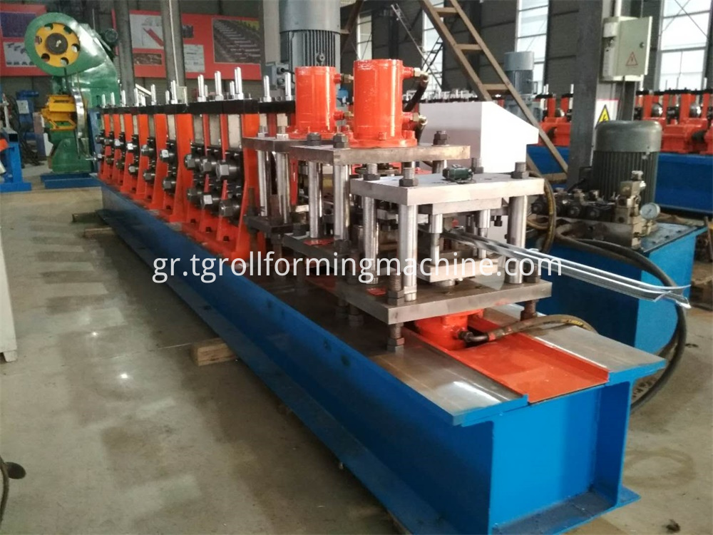 Metal Palisade Fence Machine