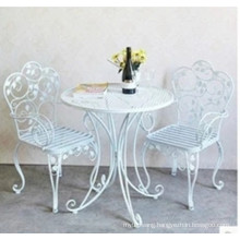2016 New Wrought Iron Folding Chair Garden Furniture