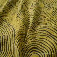 Tissu de teinture de fil Chenille Tissu de canapé