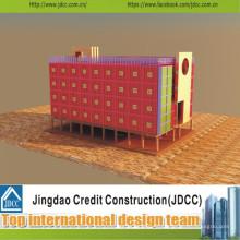 Nouveau bâtiment de structure en acier de conception