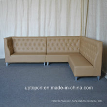 Commercial Luxury Leatherette Resultant Sofa Seating (SP-KS293)