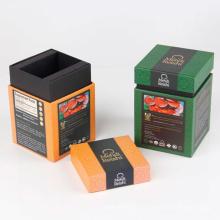 Caja de empaquetado modificada para requisitos particulares Luxuey de la cartulina de los paquetes del café / del té