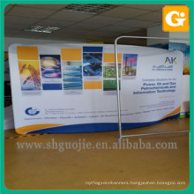 Backdrop Curved tension fabric display for show