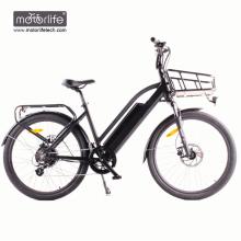 BAFANG mid drive eléctrico bicicleta eléctrica 36v350w ciudad bicicleta eléctrica, mejor e bike