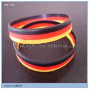 best sale waterproof silicone bracelet bangle