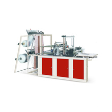 Máquina de selagem de calor e saco de corte a frio fazer máquina