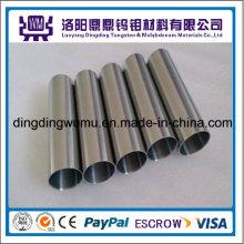 Fábrica de alta temperatura de alta densidade feita de tubos de molibdênio de 99.95% / tubo/duto ou tungstênio tubulações / tubo/duto
