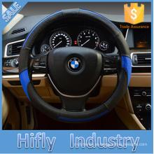 HF-CT136 fuente de la fábrica de cuero directamente cubierta del volante del coche de alta calidad cubierta del volante de la manera universal de alta calidad