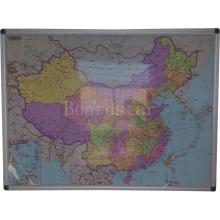Dry-Wipe Magnetic Writing Whiteboard/White Board (BSTCG-A)