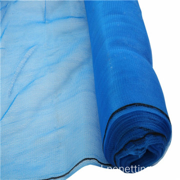 Blue Construction Scaffold Safety Net