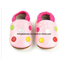 Style de conception: Chaussures en cuir pour bébé 01