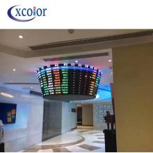 Interactive P5 Curved Led Video Wall Screen Display