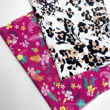 Множественный красивый дизайн, сотканный из вискозы по индивидуальному заказу, 100% вискозная ткань с набивным рисунком для женской одежды