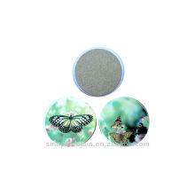 Coaster en céramique avec de jolies oeuvres de papillons pour BS131010C