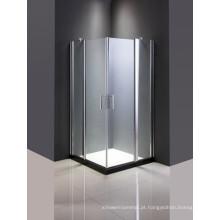 Cerco simples do chuveiro do vidro dos mercadorias sanitários