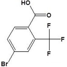 4-Bromo-2- (trifluoromethyl) Benzoic Acidcas No. 320-31-0