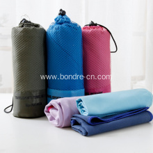 Microfiber Suede Fleece Sports Towels