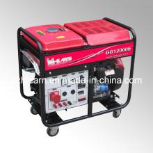 Groupe électrogène à essence à deux cylindres à air comprimé 8kw (GG12000E)
