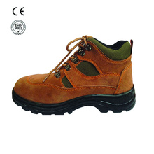 high quality industrial leather safety shoes