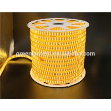 smd2835 180led ip65 ip67 ip68 led luz de tira AC110V 220V flex led luz de tira