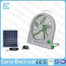 camping high speed 10inch small car fan solar powered fan