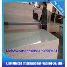 Crown cut teak plywood