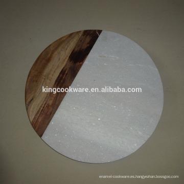 Tabla de cortar / tabla de quesos y tablas combinadas de mármol y madera